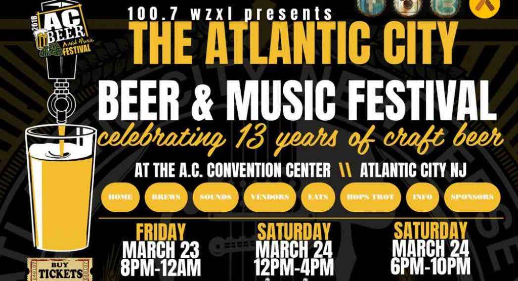 2018 Beer Fest Atlantic City